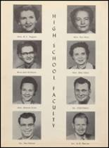 1955 Clyde High School Yearbook Page 12 & 13