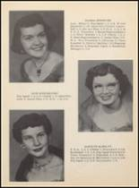 1955 Clyde High School Yearbook Page 16 & 17
