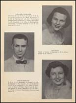 1955 Clyde High School Yearbook Page 18 & 19