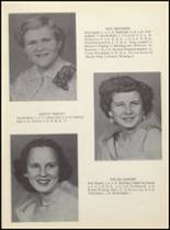 1955 Clyde High School Yearbook Page 20 & 21