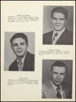 1955 Clyde High School Yearbook Page 22 & 23