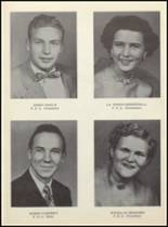 1955 Clyde High School Yearbook Page 50 & 51