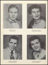 1955 Clyde High School Yearbook Page 52 & 53