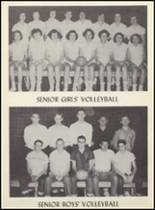 1955 Clyde High School Yearbook Page 68 & 69