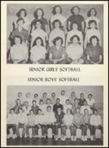 1955 Clyde High School Yearbook Page 70 & 71