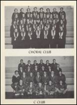 1955 Clyde High School Yearbook Page 72 & 73