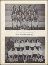 1955 Clyde High School Yearbook Page 96 & 97