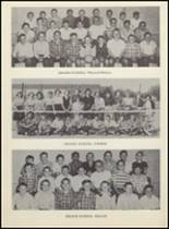 1955 Clyde High School Yearbook Page 100 & 101