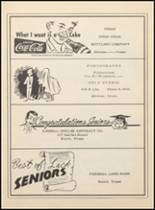 1955 Clyde High School Yearbook Page 104 & 105
