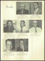 1955 Basic High School Yearbook Page 16 & 17