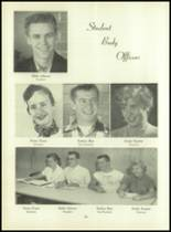 1955 Basic High School Yearbook Page 20 & 21