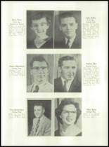 1955 Basic High School Yearbook Page 24 & 25