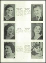 1955 Basic High School Yearbook Page 30 & 31