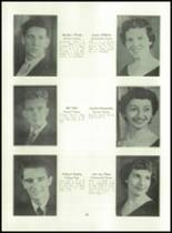 1955 Basic High School Yearbook Page 34 & 35