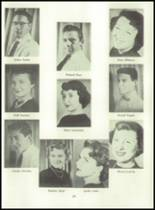 1955 Basic High School Yearbook Page 42 & 43