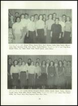 1955 Basic High School Yearbook Page 50 & 51