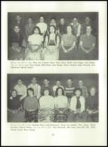 1955 Basic High School Yearbook Page 56 & 57