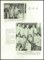 1955 Basic High School Yearbook Page 70 & 71