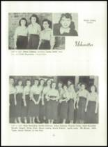 1955 Basic High School Yearbook Page 74 & 75