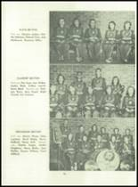 1955 Basic High School Yearbook Page 80 & 81
