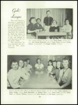 1955 Basic High School Yearbook Page 84 & 85