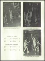 1955 Basic High School Yearbook Page 100 & 101