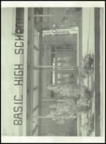 1955 Basic High School Yearbook Page 126 & 127