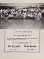 1956 Lake View High School Yearbook Page 176 & 177