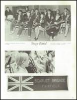 1970 Fairfield High School Yearbook Page 76 & 77