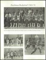 1970 Fairfield High School Yearbook Page 106 & 107