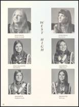 1973 West High School Yearbook Page 56 & 57