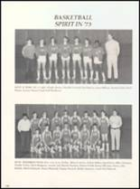 1973 West High School Yearbook Page 112 & 113