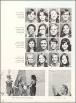 1973 West High School Yearbook Page 154 & 155