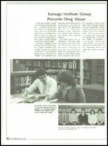 1985 Jackson High School Yearbook Page 86 & 87