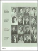 1985 Jackson High School Yearbook Page 128 & 129