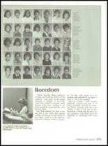 1985 Jackson High School Yearbook Page 182 & 183
