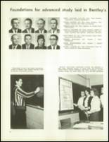 1963 Bentley High School Yearbook Page 40 & 41
