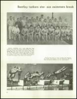 1963 Bentley High School Yearbook Page 110 & 111
