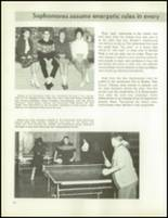 1963 Bentley High School Yearbook Page 124 & 125