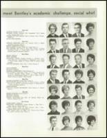 1963 Bentley High School Yearbook Page 152 & 153