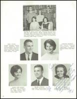 1965 Clawson High School Yearbook Page 20 & 21