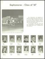 1965 Clawson High School Yearbook Page 66 & 67