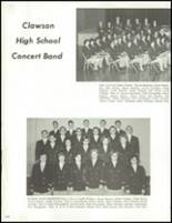 1965 Clawson High School Yearbook Page 104 & 105