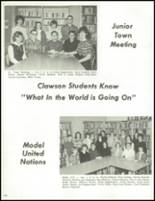 1965 Clawson High School Yearbook Page 108 & 109