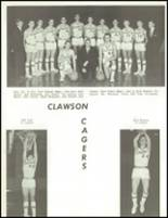 1965 Clawson High School Yearbook Page 118 & 119