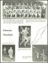 1965 Clawson High School Yearbook Page 124 & 125