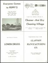 1965 Clawson High School Yearbook Page 132 & 133