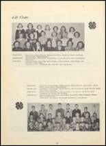 1950 Huron Consolidated High School Yearbook Page 34 & 35
