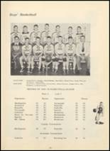 1950 Huron Consolidated High School Yearbook Page 36 & 37