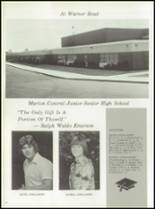 1976 Marion High School Yearbook Page 16 & 17